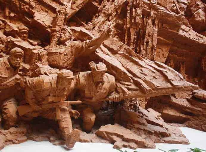 广西雕塑厂家:浮雕的制作步骤