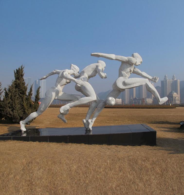 南宁体育雕塑