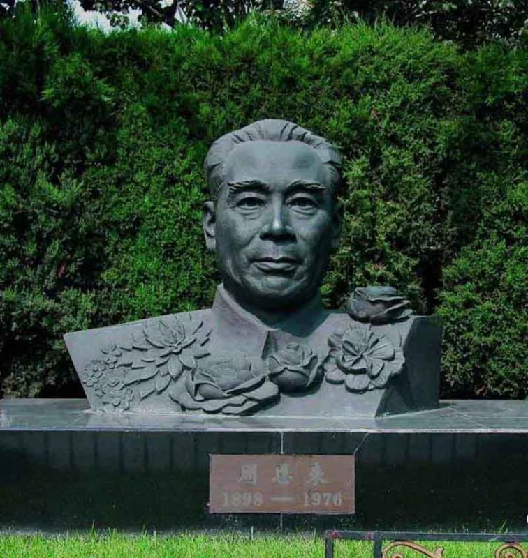 贵港周恩来纪念雕塑