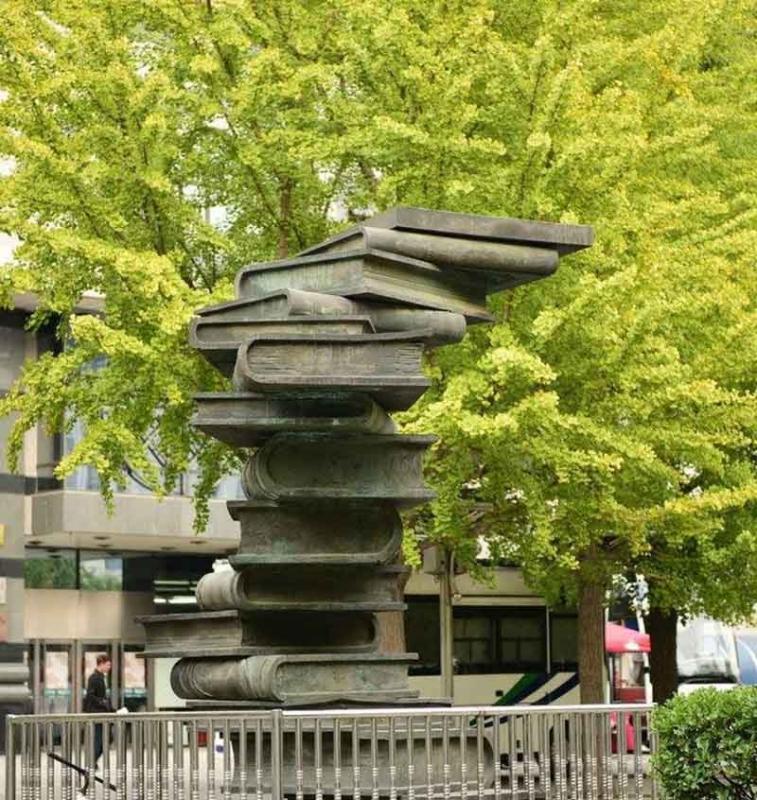 来宾校园文化雕塑