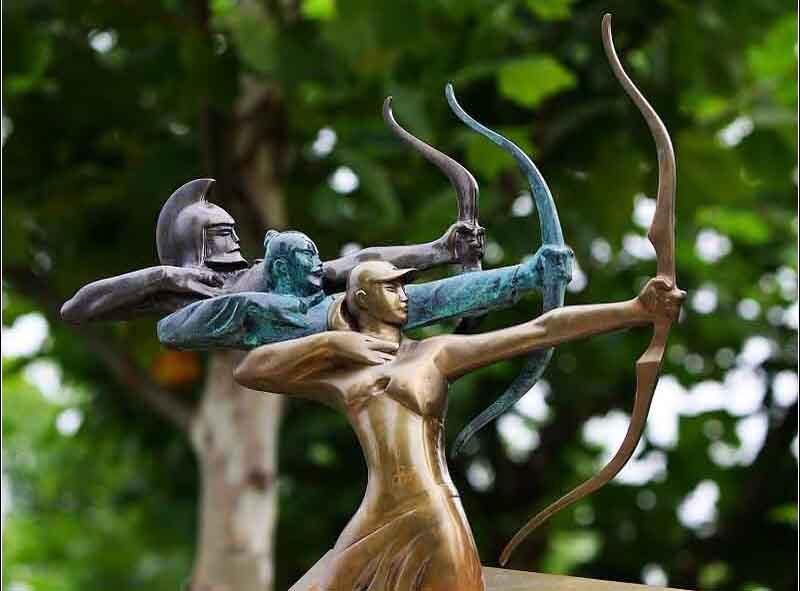 广西雕塑制作:不锈钢雕塑的作用